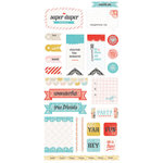 BasicGrey - Paper Cottage Collection - Cardstock Stickers - Titles