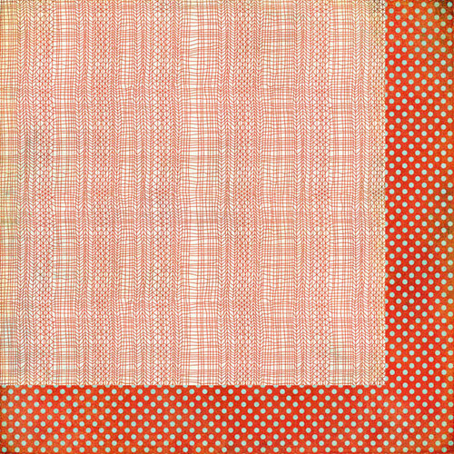 BasicGrey - PBandJ Collection - 12 x 12 Double Sided Paper - Raspberry Jam