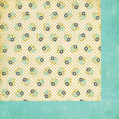 BasicGrey - PBandJ Collection - 12 x 12 Double Sided Paper - Fluffer Nutter
