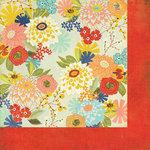 BasicGrey - PBandJ Collection - 12 x 12 Double Sided Paper - Daisy Mae