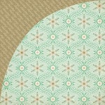 BasicGrey - 25th and Pine Collection - Christmas - 12 x 12 Double Sided Paper - Frosty Avenue