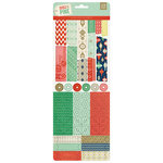 BasicGrey - 25th and Pine Collection - Christmas - Vellum Tape Stickers