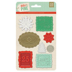 BasicGrey - 25th and Pine Collection - Christmas - Wax Seals