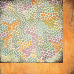BasicGrey - Plumeria Collection - 12 x 12 Double Sided Paper - Budding Lavender