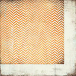 BasicGrey - Plumeria Collection - 12 x 12 Double Sided Paper - Zig