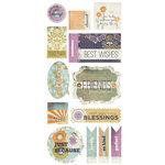 BasicGrey - Plumeria Collection - Title Stickers