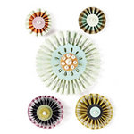 BasicGrey - Plumeria Collection - Accordion Stickers