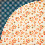 BasicGrey - Persimmon Collection - 12 x 12 Double Sided Paper - Butternut Squash