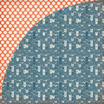 BasicGrey - Persimmon Collection - 12 x 12 Double Sided Paper - Gingersnap