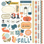 BasicGrey - Persimmon Collection - 12 x 12 Element Stickers