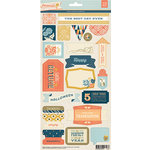 BasicGrey - Persimmon Collection - Title Stickers