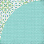BasicGrey - Prism Collection - 12 x 12 Double Sided Paper - Spoke