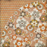 BasicGrey - Pyrus Collection - 12 x 12 Double Sided Paper - Rosales, CLEARANCE