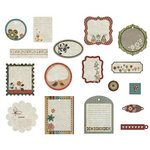BasicGrey - Pyrus Collection - Die Cut Cardstock Pieces