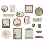 BasicGrey - Pyrus Collection - Die Cut Cardstock Pieces