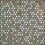BasicGrey - Pyrus Collection - Doilies - 12 x 12 Die Cut Paper - Honeycomb