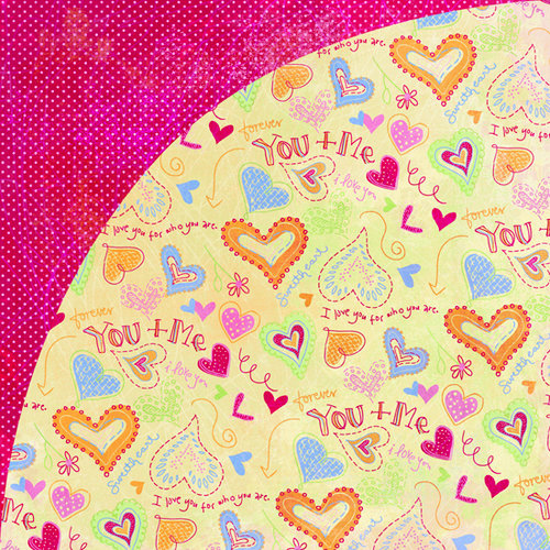 BasicGrey - Sugar Rush Collection - 12 x 12 Double Sided Paper - Gummy Bears, CLEARANCE