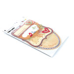 BasicGrey - Sugar Rush Collection - Take Note Journaling Cards with Transparencies, CLEARANCE