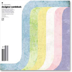 BasicGrey - Designer Cardstock Collection - 12 x 12 Double Sided Cardstock Pack - Fresh