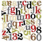 BasicGrey - Mini Monograms - Scarlet's Letter, CLEARANCE