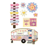 BasicGrey - Soleil Collection - Layered Stickers