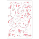 BasicGrey - Two Scoops Collection - Clear Stamp Set - Heart Smudge