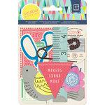 BasicGrey - Saturday Morning Collection - Die Cut Cardstock Pieces