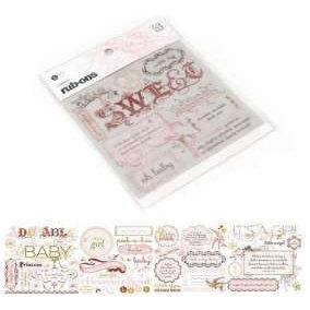 BasicGrey - Sugared Collection - Rub-On Book - Olio