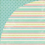 BasicGrey - Tea Garden Collection - 12 x 12 Double Sided Paper - English Breakfast