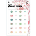 BasicGrey - Two Scoops Collection - Glazed Brads - Two Scoops