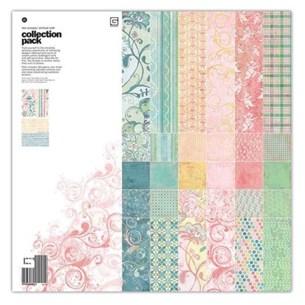 BasicGrey - Two Scoops Collection - 12 x 12 Collection Pack