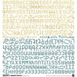 BasicGrey - Two Scoops Collection - Alphabet Stickers - Two Scoops