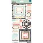 BasicGrey - Typeset Collection - Cardstock Stickers - Elements