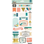 BasicGrey - Typeset Collection - Title Stickers
