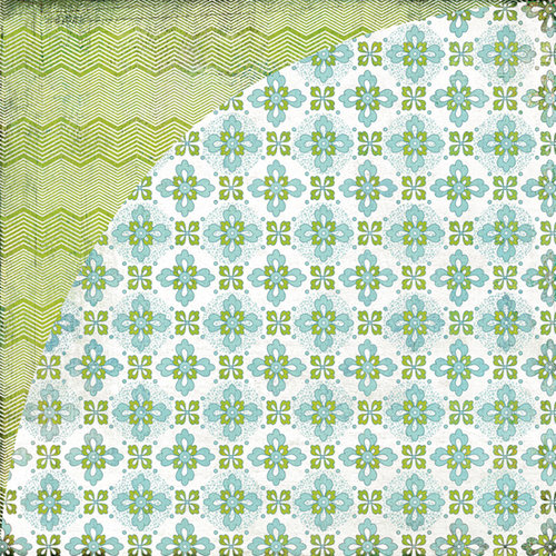 BasicGrey - Oliver Collection - 12 x 12 Double Sided Paper - Adrian, CLEARANCE