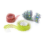 BasicGrey - Oliver Collection - Doilies - Self Adhesive Ribbon