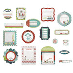 BasicGrey - Oliver Collection - Die Cut Cardstock Pieces, CLEARANCE