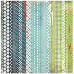 BasicGrey - Oliver Collection - Doilies - 12 x 12 Die Cut Paper - Jesse, CLEARANCE