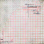 BasicGrey - Olivia Collection - 12 x 12 Double Sided Paper - Marissa, CLEARANCE