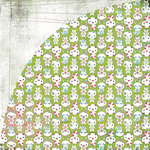 BasicGrey - Olivia Collection - 12 x 12 Double Sided Paper - Isabella, CLEARANCE