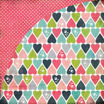 BasicGrey - Olivia Collection - 12 x 12 Double Sided Paper - Ashlyn, CLEARANCE