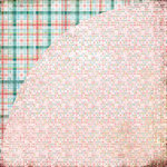 BasicGrey - Olivia Collection - 12 x 12 Double Sided Paper - Chloe, CLEARANCE