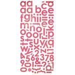 BasicGrey - Olivia Collection - Mini Monogram Stickers, CLEARANCE