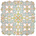 BasicGrey - Olivia Collection - Doilies - 12 x 12 Die Cut Paper - Prairie, CLEARANCE
