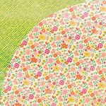 BasicGrey - Vivienne Collection - 12 x 12 Double Sided Paper - Gardenia
