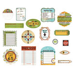 BasicGrey - Wander Collection - Die Cut Cardstock Pieces