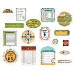 BasicGrey - Wander Collection - Die Cut Cardstock Pieces