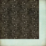 BasicGrey - Whats Up Collection - 12 x 12 Double Sided Paper - Airships