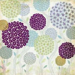 BasicGrey - Wisteria Collection - 12x12 Paper - French Topiary