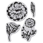 Hero Arts - BasicGrey - Indie Bloom Collection - Bold Blooms
